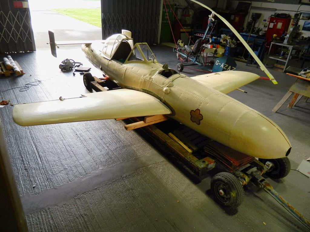 英国海军航空博物馆欲复原旧日军樱花特攻机(图)